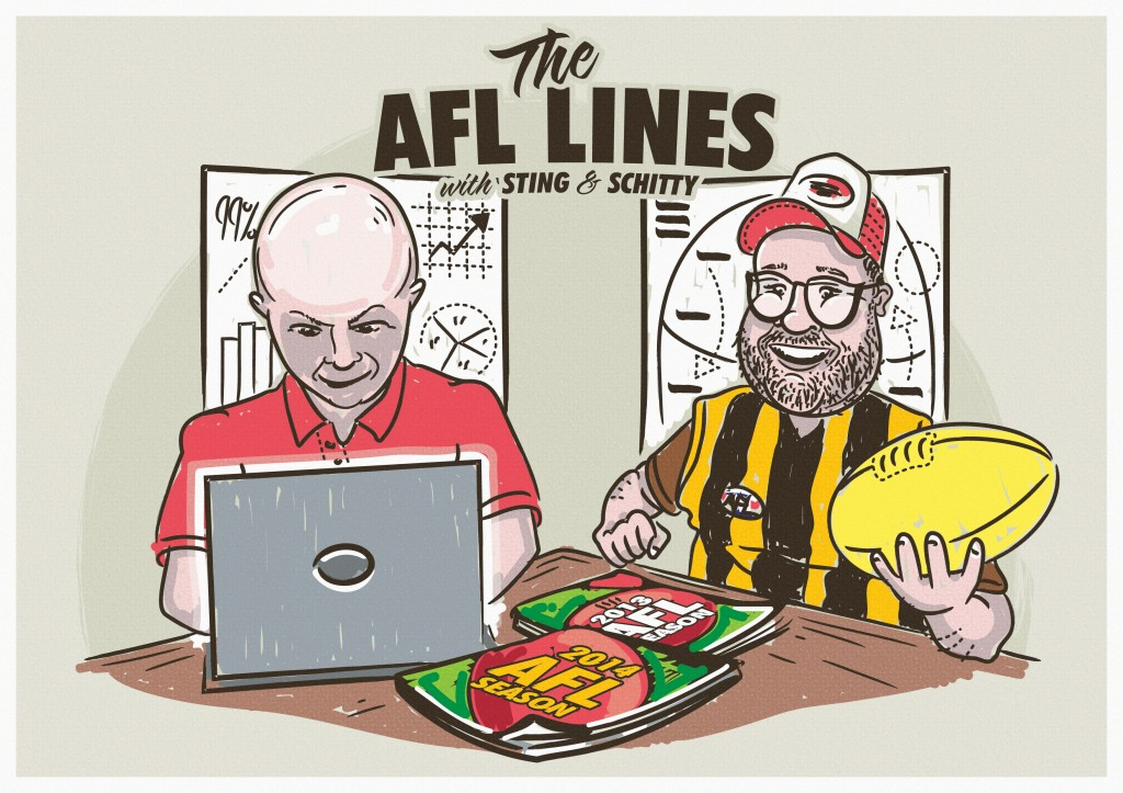The 2016 AFL Lines – Round 22